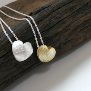 Heart Shaped Gold & Silver Necklaces